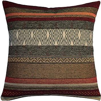 Amazon.com: Almohada decorativa de pug 14 x 14 francés tapiz ...