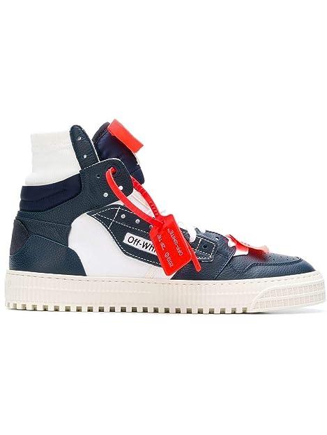 OFF-WHITE - Zapatillas para Hombre Blanco/Azul IT - Marke Größe, Color, Talla 45 EU: Amazon.es: Zapatos y complementos