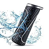 SoundMark Sport Bluetooth Speaker Portable Wireless Waterproof Indoor Outdoor with 15 Hour Playtime and Best Stereo with Super Bass, Built-in Microphone and Battery Power Bank 4400 mAh Phone Charger