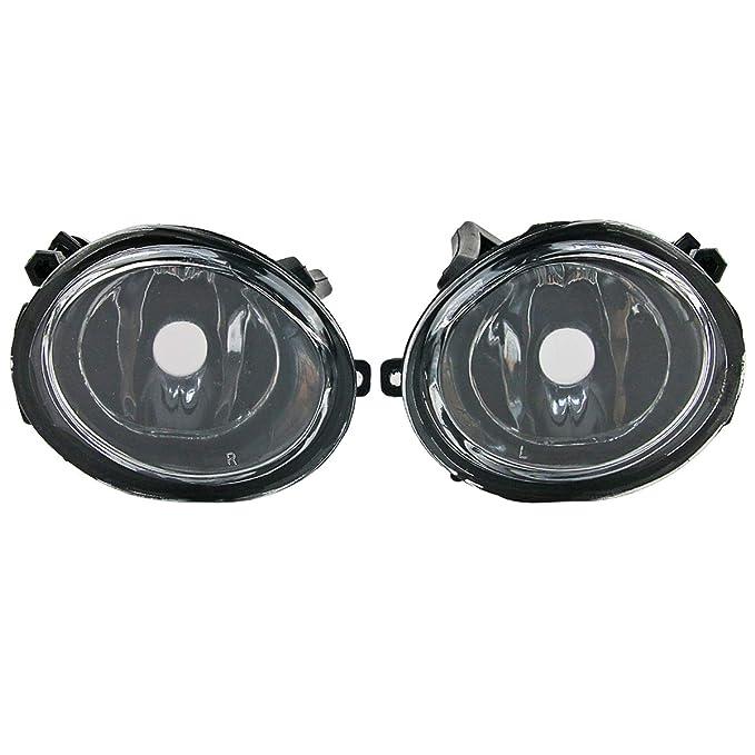 Amazon.com: 1 Pair M3 Front Bumper Fog Light Lamp For BMW E46 318 320 325 330 4Dr 1998-2005: Automotive