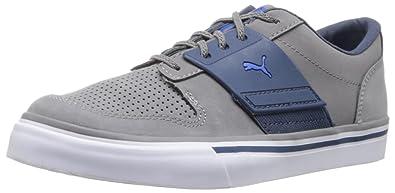 Puma El Ace 2 Nubuk Kleinkinder Kinder Schuhe, Steel Gray