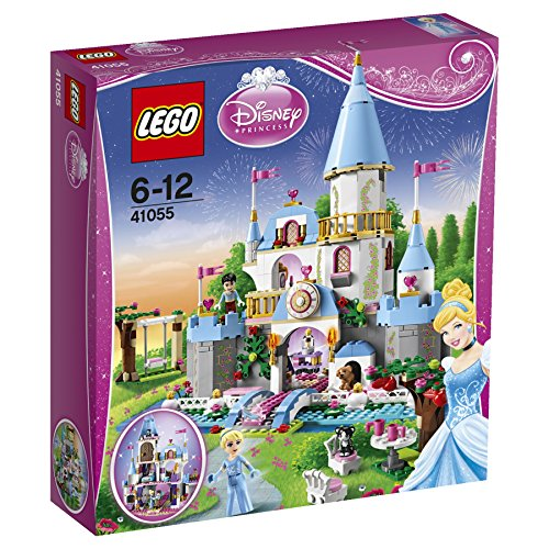 Maven Gifts: LEGO Disney Princess 41055 Cinderella's Romantic Castle with Cinderella's Dream - Disney Castle World Cinderella