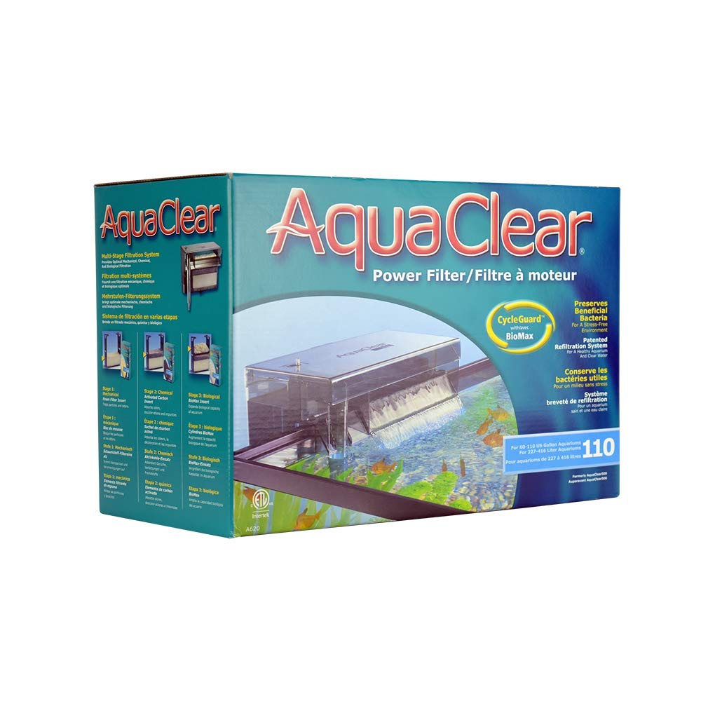 AquaClear 110 Aquarium Power Filter - for 60 to 110 Gallon by Aqua Clear