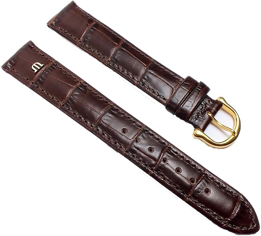 Maurice Lacroix ML-22005-15G - Correa para reloj, piel, color marrón
