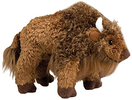 Amazon Com Douglas Cuddle Toys Bodi Buffalo 8 Inch Plush Toys Games