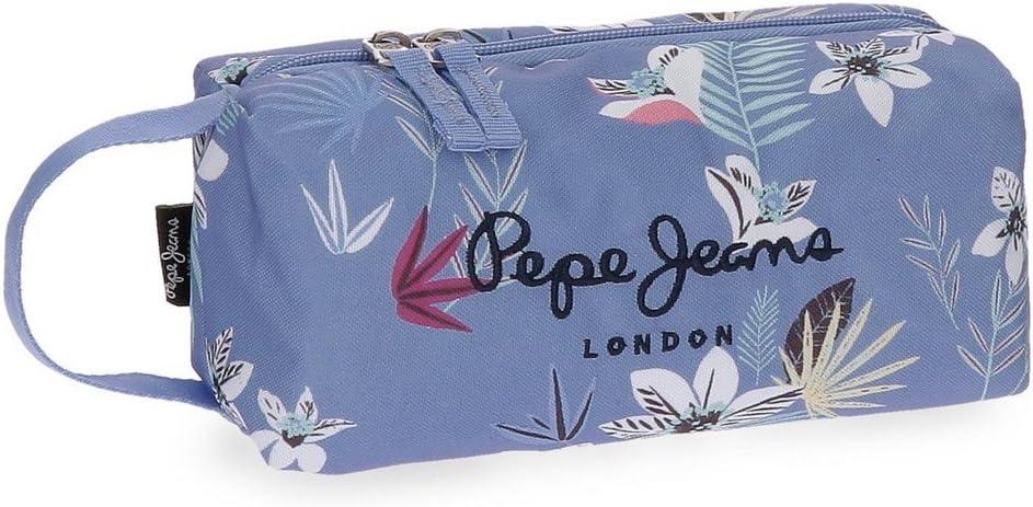Plumier con Compartimentos extraíbles Pepe Jeans Mireia: Amazon.es: Equipaje