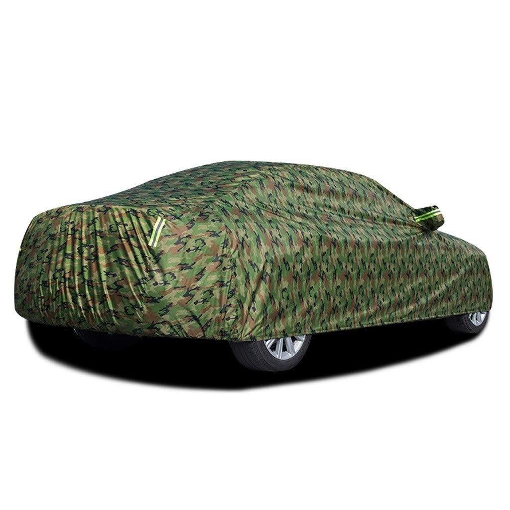 Kompatibel mit Mercedes Benz CLK 500 Auto Abdeckung wasserdicht atmungsaktiv dicken Sonnenschutz Regen Plane leinwand Color : Blue