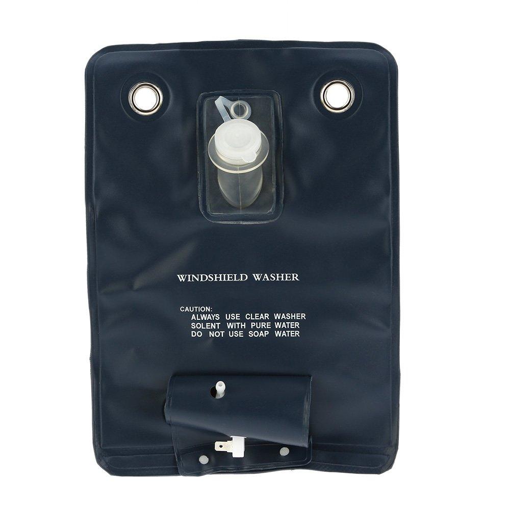 Kkmoon 12 V Universal Windscreen Washer Pump Kit with Jet Switch for Vintage Car