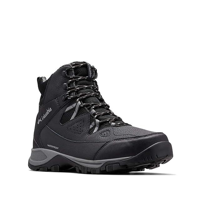 Columbia Men's LIFTOP III Snow Boot, Black, ti Grey Steel, 7 Regular US