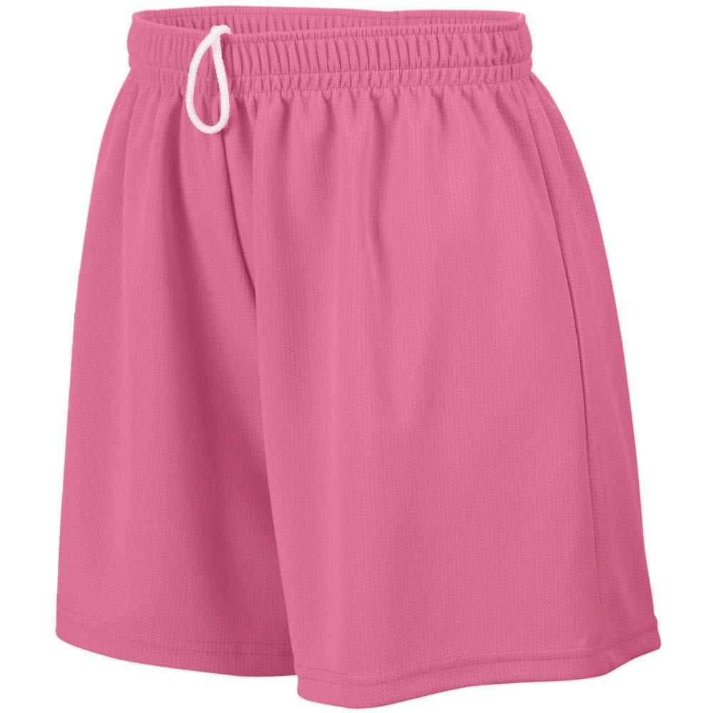 Augusta Sportswear Teen-Girls Wicking Mesh Short, Pink, Large by Augusta Sportswear