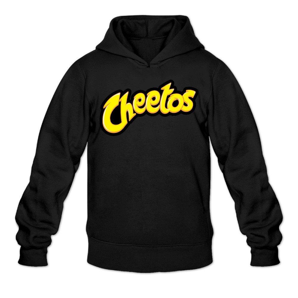 Greenday Mens Hoodies Cheeto Logo Black