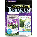 Made By Me Glow-in-The-Dark Terrarium by Horizon Group USA, with 2 Hand Painted Figurines