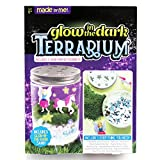 (US) Made By Me Glow-in-The-Dark Terrarium by Horizon Group USA, with 2 Hand Painted Figurines