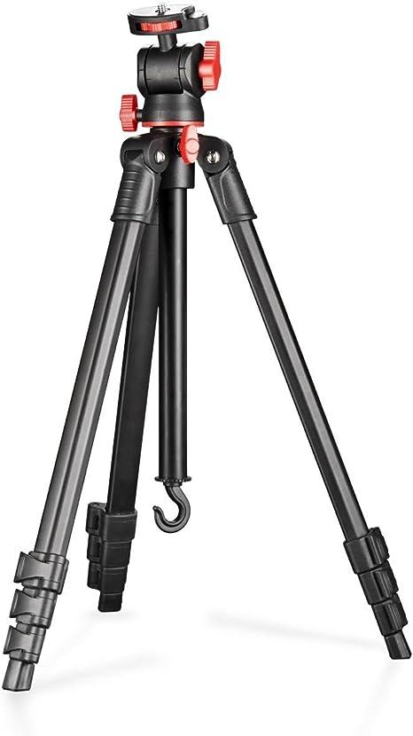 Walimex Basic - Trípode de Viaje (para cámaras réflex), Negro y ...
