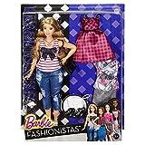 (US) Barbie Fashionistas Doll & Fashions Everyday Chic, Curvy Blonde