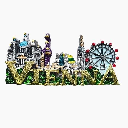 MUYU Magnet Imán para Nevera, diseño de Austria con Texto en 3D ...