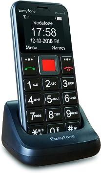 Easyfone Prime-A5 Teléfono Móvil para Mayores con botón SOS y ...