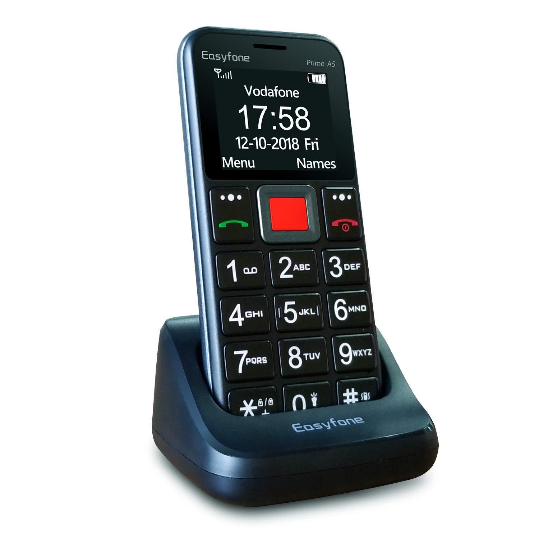 teléfono móvil sin tapa mayores marcación por voz