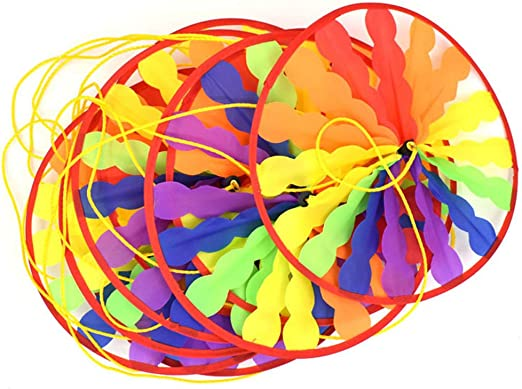 ECMQS - Tocadiscos de 28 cm, Molino de Viento, Cuerda para Exterior, jardín, guardería, decoración, Juguete para niños: Amazon.es: Productos para mascotas