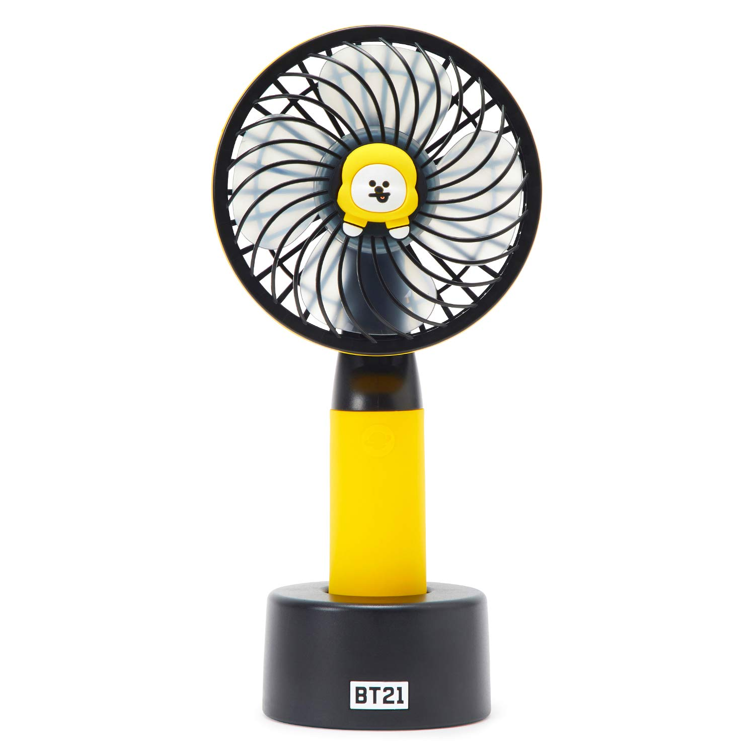 LINE FRIENDS BT21 Official Merchandise CHIMMY Character Mini Handheld Personal Portable Fan