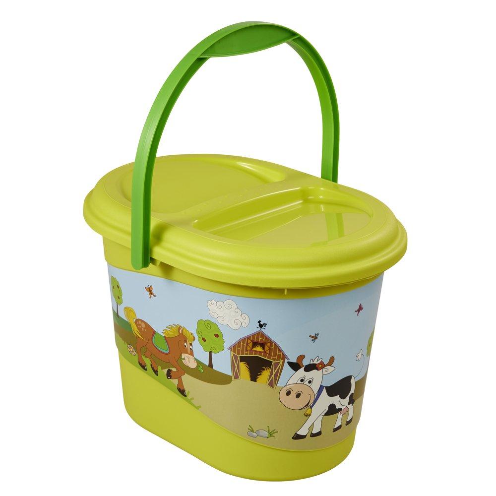 OKT Kids Funny Farm Seau de jardin pour enfant Vert 11801274063