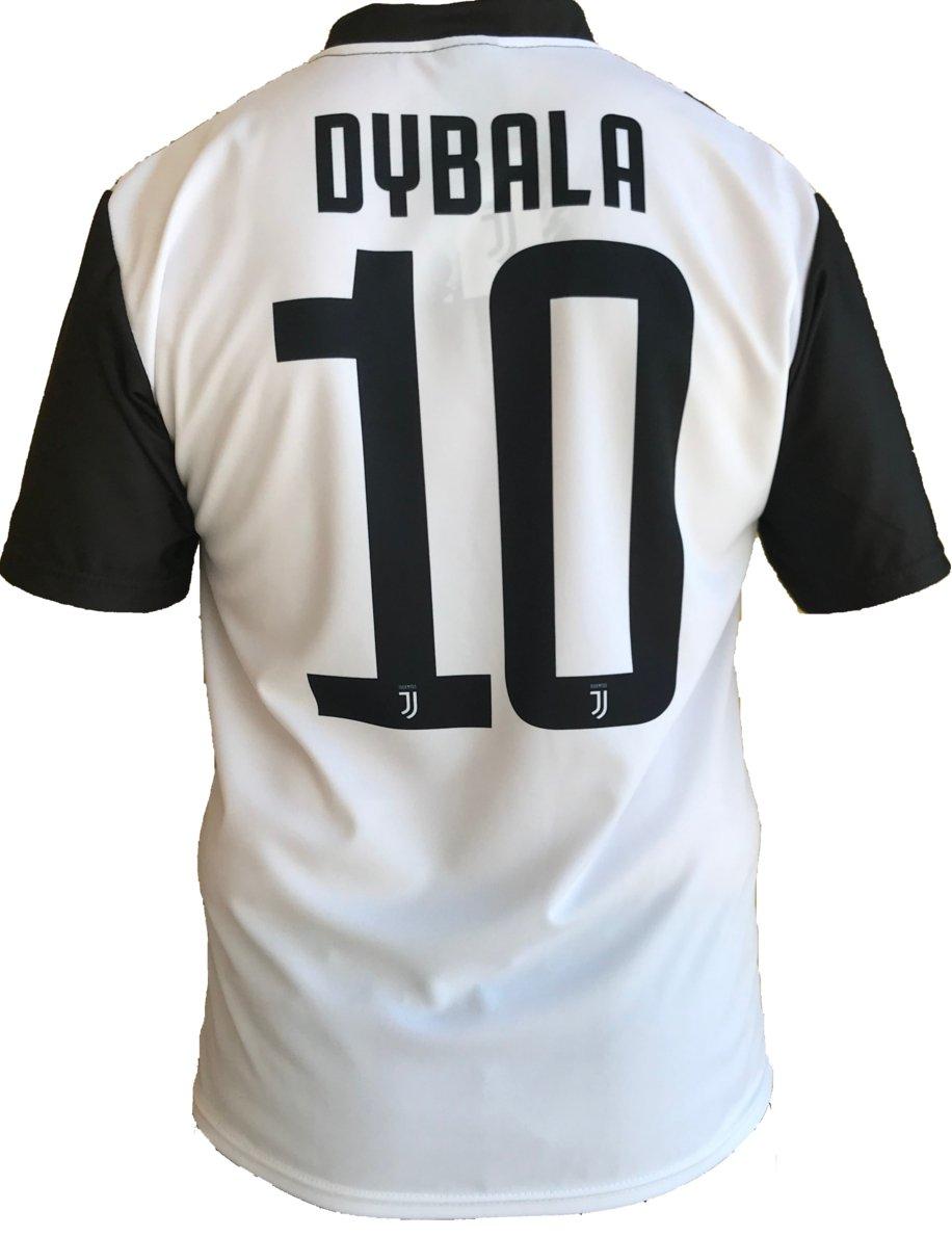Camiseta Jersey Futbol Juventus Paulo Dybala 10 Replica Oficial Autorizado 2018-2019 Niños (2,4,6,8,10,12 año) Adultos (Small, Medium, Large, ...
