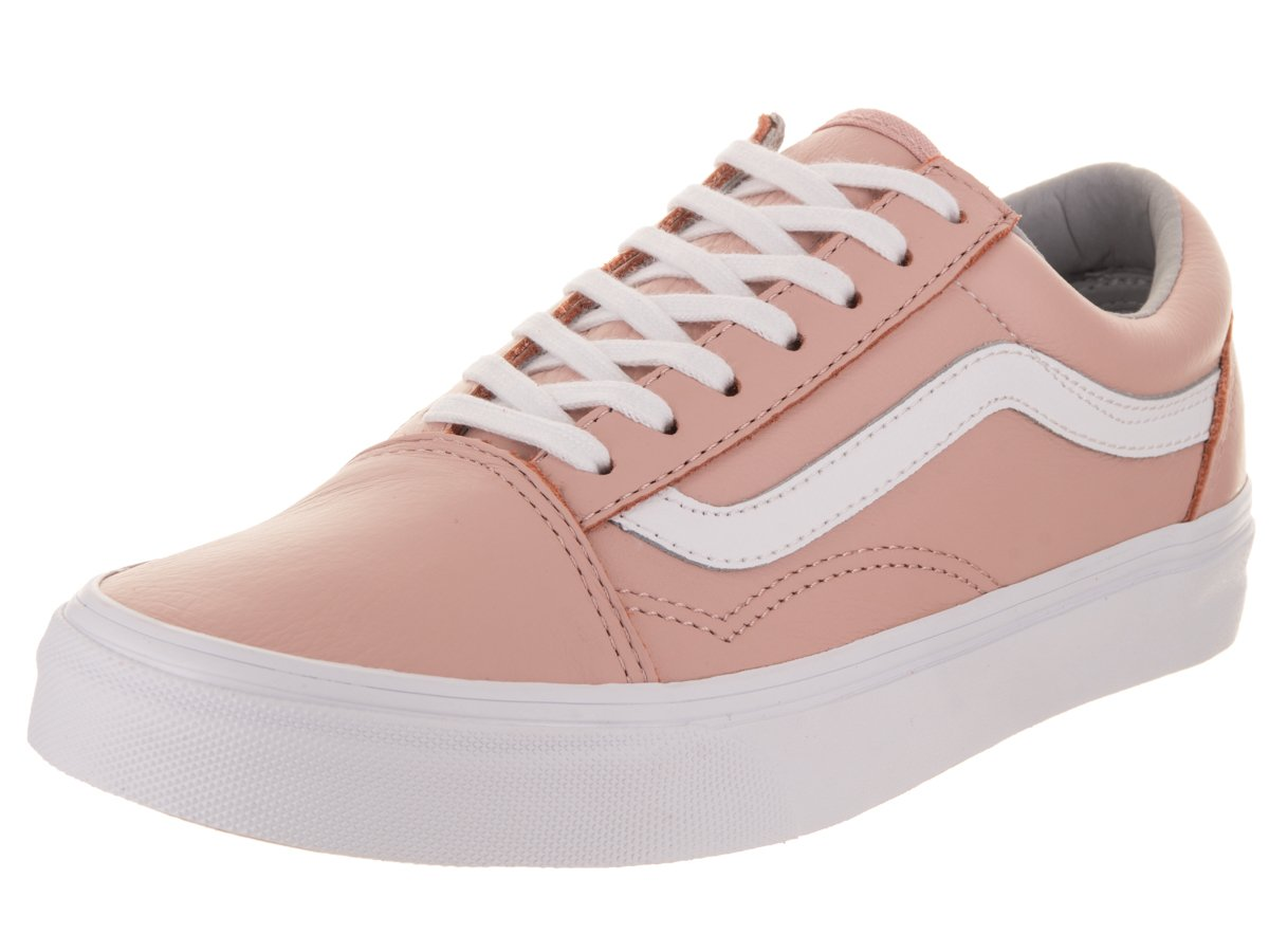 Vans Unisex Old Skool (Leather) Oxford/Evening Skate Shoe 5 Men US/6.5 Women US