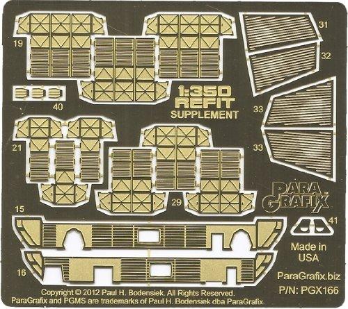 Polar Lights Model - Paragrafix - 1:350 Refit Enterprise Supplemental Photoetch Set - PGX166 by VCSHobbies