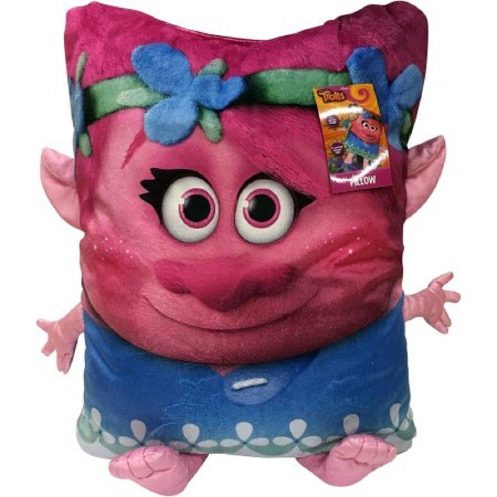 Amazon.com: DreamWorks Trolls Poppy 3d Buddy de almohada 20 ...
