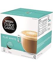 NESCAFÉ Dolce Gusto Flat White Coffee Pods, 16 Capsules (16 Serves) 187g