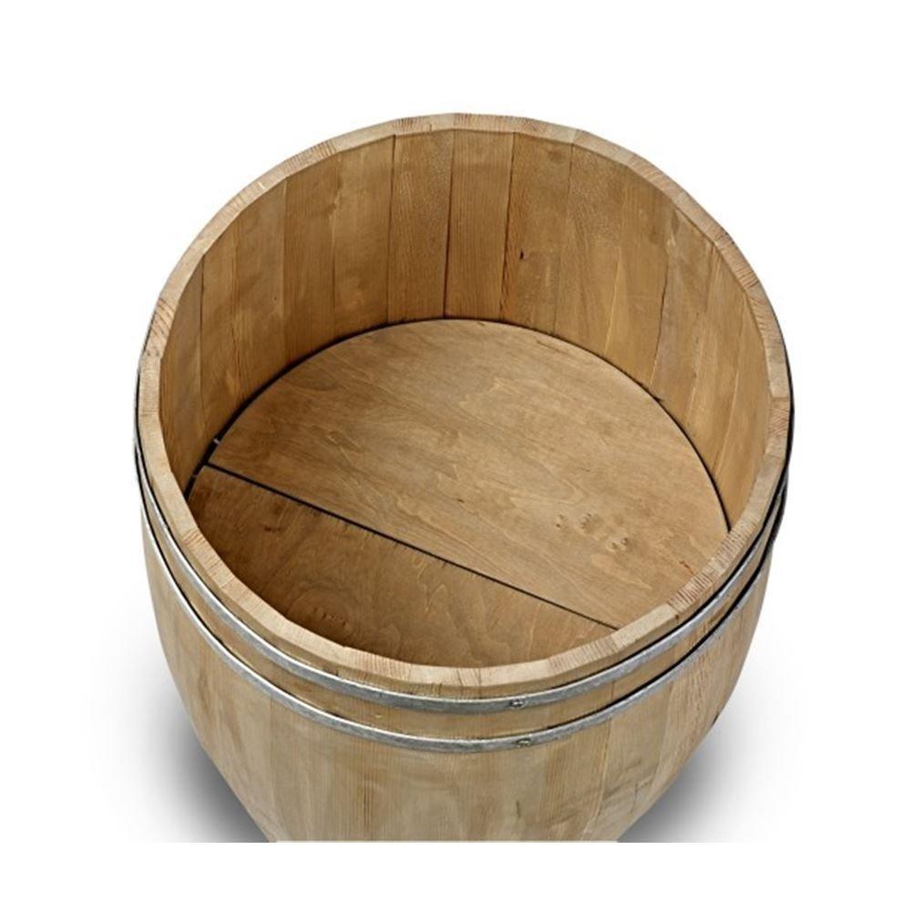 Small Wooden Display Beer Barrel