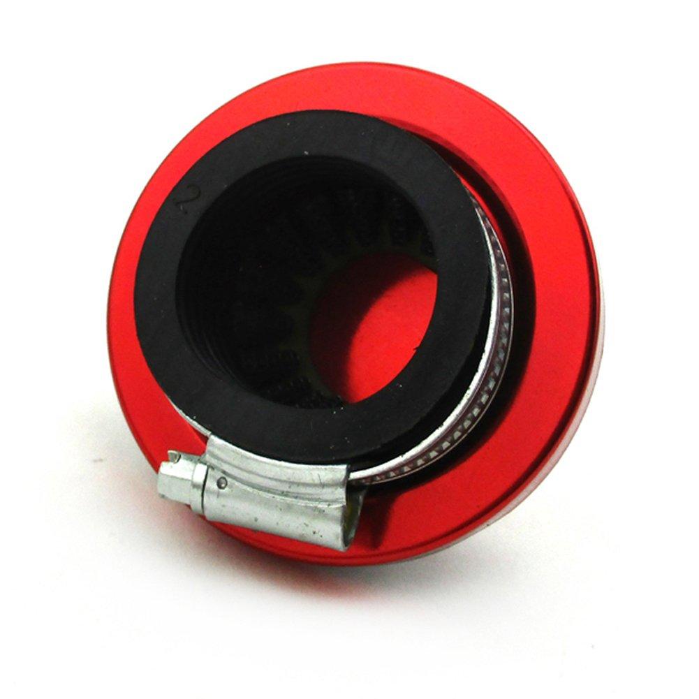 Stoneder Rouge 35/mm Filtre /à air pour 50/cc 70/90/110/125/CC Pit Dirt bike ATV Quad Go Kart Buggy