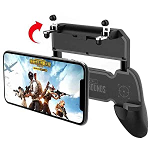 COOBILE Mobile Game Controller for PUBG Mobile Controller Key Gaming Grip and Gaming Joysticks for 4.5-6.5inch for Android iOS Compatible with Phone