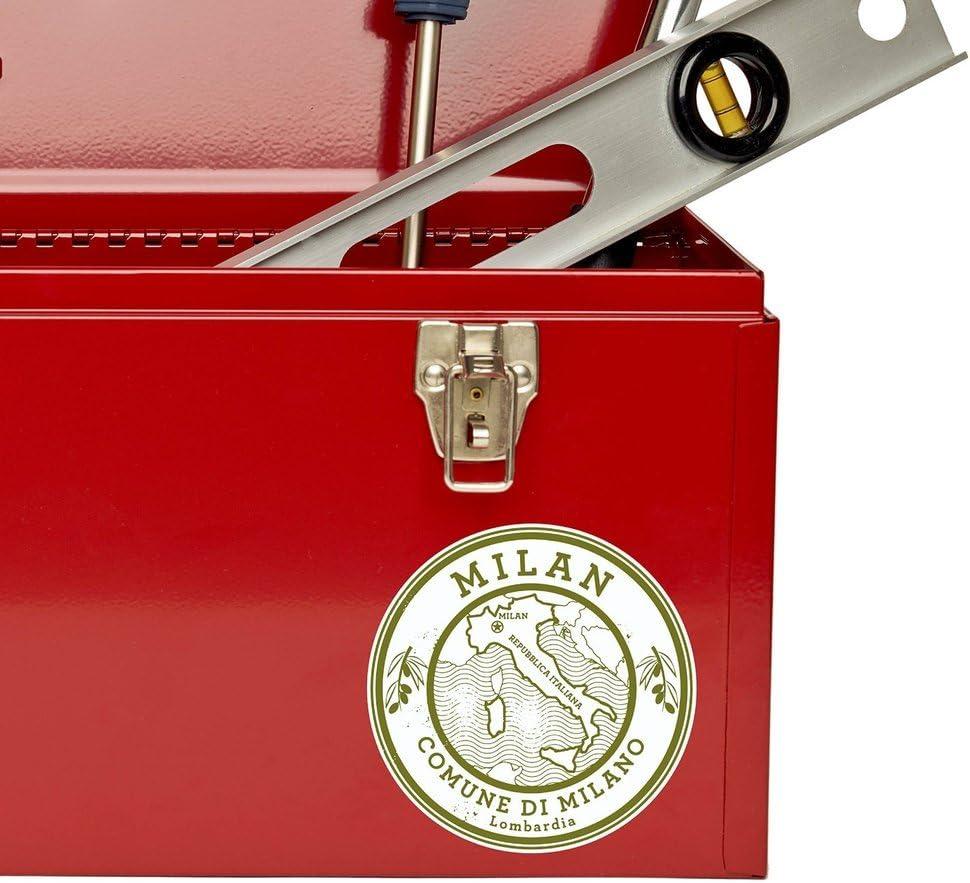 2 x Milan Italy Vinyl Sticker Laptop Travel Luggage Car #6042