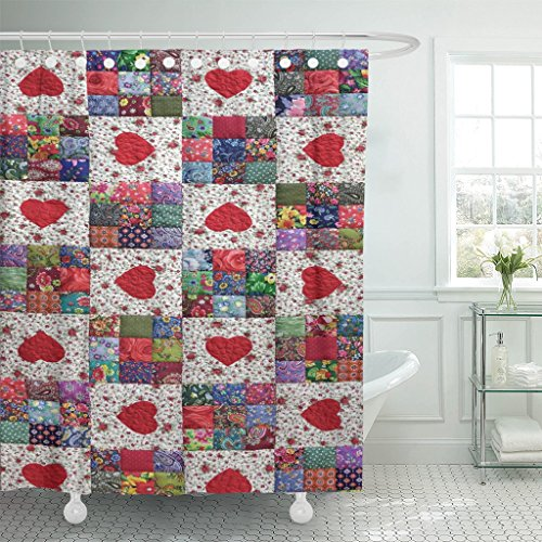 vintage pattern curtains - 7