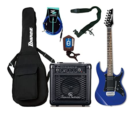 Ibanez Starter Pack guitarra eléctrica Entry Level Azul/Combo/accesorios