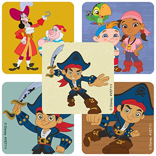 Jake and The Never Land Pirates ValueStickers - Prizes 250 per Pack]()