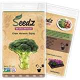 CERTIFIED ORGANIC SEEDS (Apr. 225) - De Cicco Broccoli Seeds - Heirloom Broccoli Sprouting Seeds - Non GMO, Non Hybrid - USA