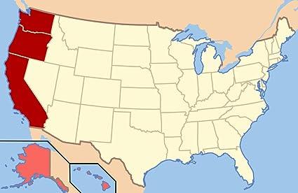 Amazon.com: Home Comforts Laminated Map - West Coast The ... on montana map, usa map, western us map, oregon map, california map, utah map, nevada map, grand canyon map, western hemisphere map, wyoming map, western states and capitals map, western brazil map, alaska map, western upland map, british columbia map, western nigeria map, eastern us map, idaho map, colorado map, western continents map,