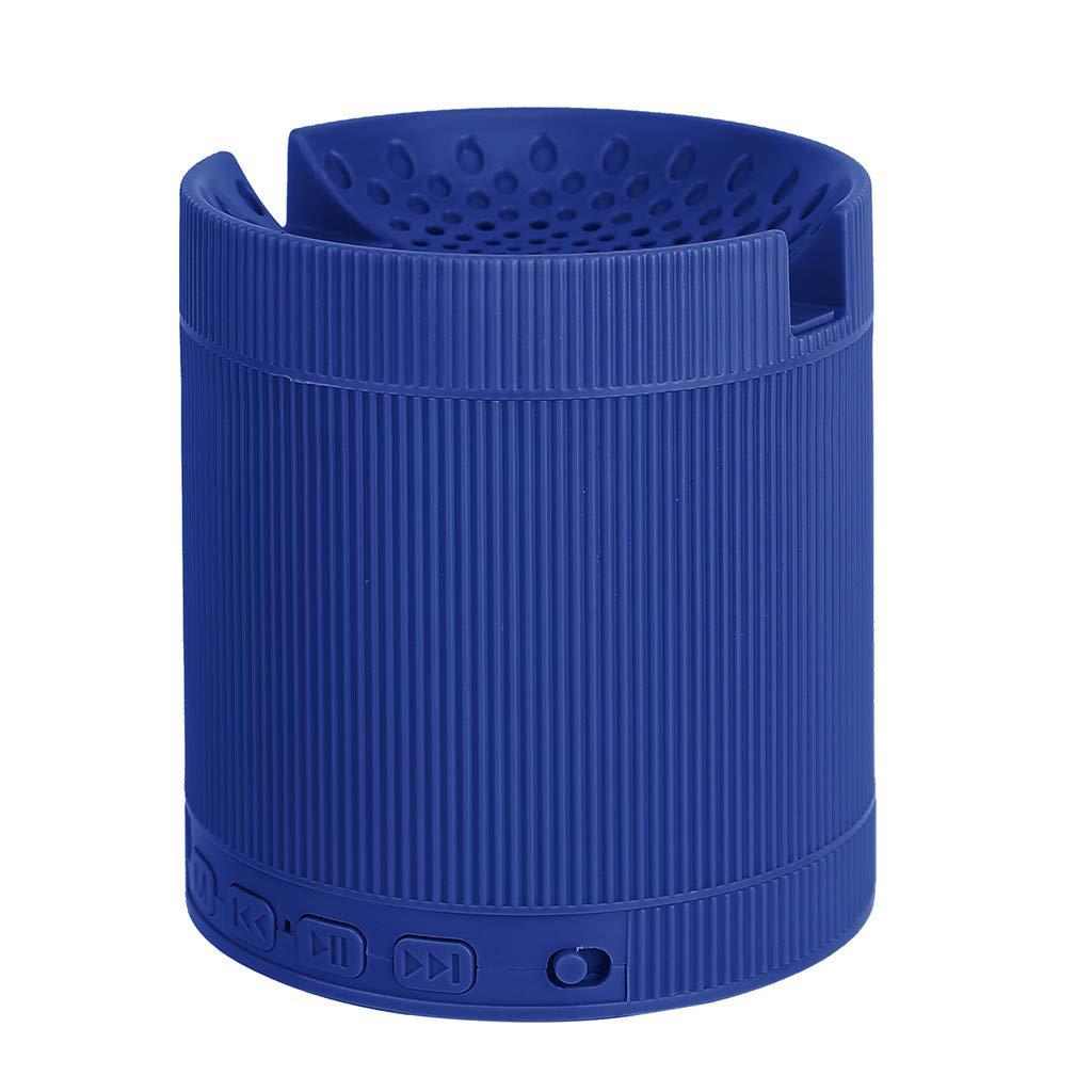 Camping Haut-Parleur Bluetooth Portatif Enceinte Bluetooth Portable Puissante 3W St/ér/éo HD Subwoofer Port USB,SD Compatible avec T/él/éphone Android iOS et Tablettes Id/éal la Maison