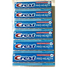 6 Crest Pro-Health 6oz Clean Mint POLYFLUORITE SYSTEM Smooth Toothpaste ADA LIFE