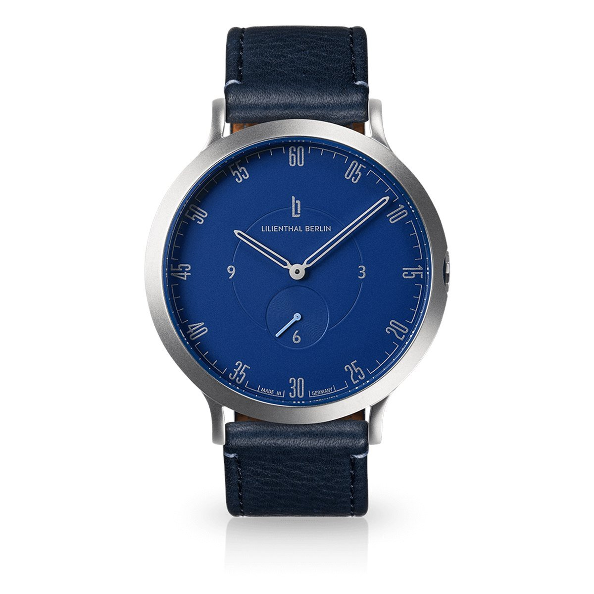 Mit Lederarmband Berlin Qualität Armbanduhr L1Prämiertes Made Germany Unisex Design In Lilienthal JT3K1clF