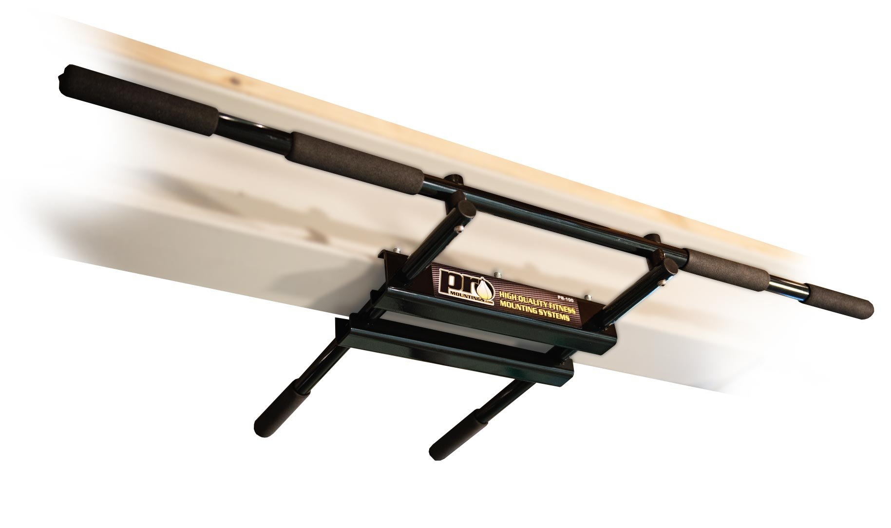 PB100 (Black Long Bar with Straight Ends)