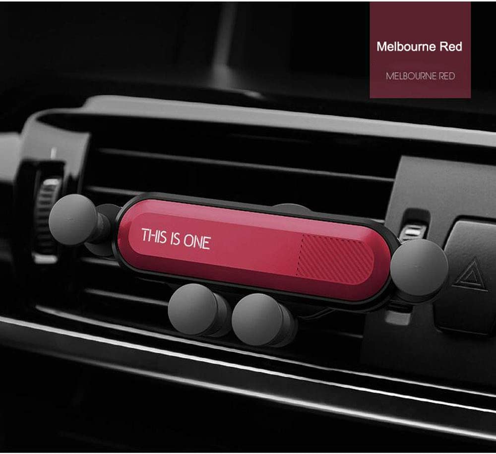 360/° Rotation Adjustable Ultra-Stable Vent Phone Mount//Universal Navigation car Smartphone GPS Device,MelbourneRed NINGXUE Car Phone Mount