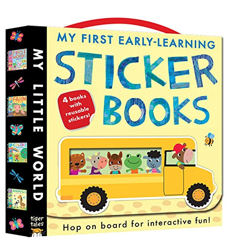 My First Early-Learning Sticker Books (My Little World) (Learning Stickers)