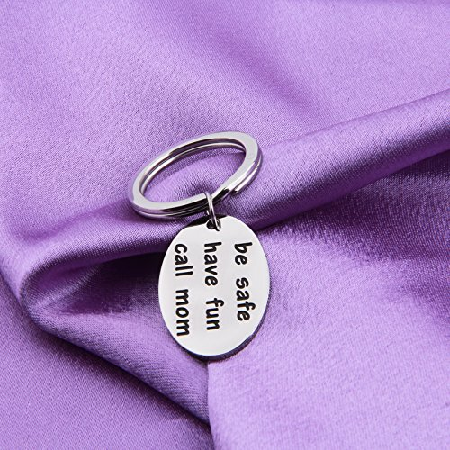 MAOFAED Graduation Gift Travel Gift Be Safe Have Fun for Mom Graduation Gift for Daughter or Son (KR-call mom) by MAOFAED (Image #2)