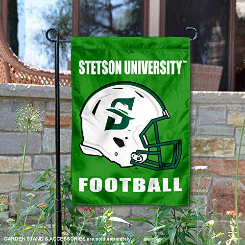 - College Flags and Banners Co. Stetson University Football Helmet Garden Flag