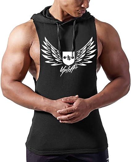 Homme D/ébardeur Uni T-shirt sans Manches Shirt L/âche Maillot de Corps Sport Blouse Fitness Jogging,S-XXL