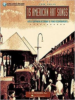15 American Art Songs: Low Voice