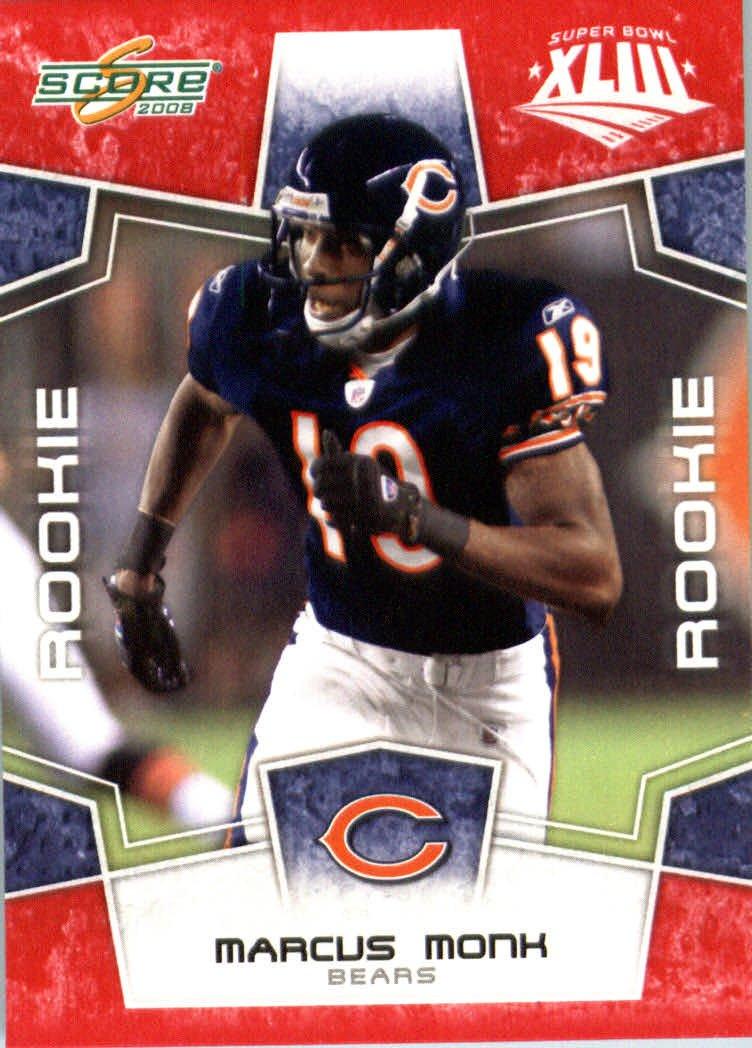 2008スコアレッドSuperbowl WR 430 Edition NFLフットボールカード(のみ2400 Made ) – # 430 – Marcus Monk ( RC – ルーキーカード) WR – Chicago Bears B00B7TU69I, 築館町:1556bdbf --- evershine.marketcentral.in